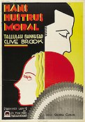 Tarnished Lady 1931 poster Tallulah Bankhead
