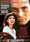Untamed Heart 1992 Movie poster Christian Slater