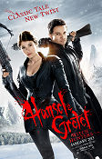 Hansel and Gretel Witch Hunters 2013 poster Jeremy Renner Tommy Wirkola