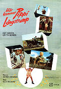 Pippi Longstocking 1972 Movie poster Inger Nilsson Olle Hellbom