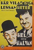 Pack Up Your Troubles 1932 poster Laurel and Hardy
