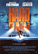 Hard Rain 1996 poster Morgan Freeman