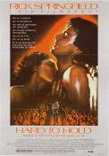 Hard to Hold 1984 poster Rick Springfield