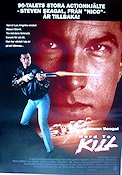 Hard to Kill 1990 poster Steven Seagal