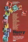 Deconstructing Harry 1996 poster Richard Benjamin Woody Allen