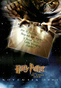 The Philosopher´s Stone 2001 poster Daniel Radcliffe Chris Columbus