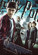 Harry Potter and the Half-Blood Prince 2009 poster Daniel Radcliffe David Yates