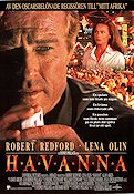 Havana 1990 Movie poster Robert Redford Sydney Pollack