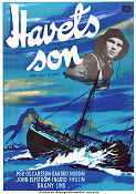 Havets son 1949 poster Per Oscarsson Rolf Husberg