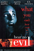 Hear No Evil 1993 Movie poster Marlee Matlin