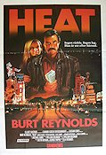Heat 1986 Movie poster Burt Reynolds