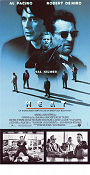 Heat 1995 Movie poster Al Pacino Michael Mann