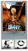 Heavy Metal 1981 Movie poster John Candy Gerald Potterton