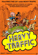 Heavy Traffic 1973 Movie poster Ralph Bakshi