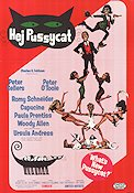 What's New Pussycat 1965 poster Peter Sellers