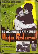 Heja Roland 1966 Movie poster Thommy Berggren Bo Widerberg