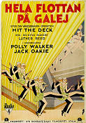 Hit the Deck 1930 poster Polly Walker Luther Reed