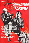 Helicopter Spies 1968 poster Robert Vaughn Boris Sagal