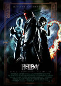 Hellboy 2004 Movie poster Ron Perlman