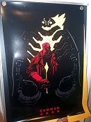 Limited edition Hellboy II Summer 2008 No 1535 of 2008 San Diego Comic Con Signed 2008 poster
