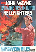 Hellfighters 1968 Movie poster John Wayne