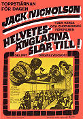 Hell's Angels on Wheels 1968 Movie poster Jack Nicholson