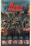 The Secret Invasion 1964 poster Stewart Granger Roger Corman