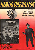 State Secret 1950 Movie poster Jack Hawkins