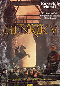 Henry V 1996 Movie poster Paul Scofield Kenneth Branagh