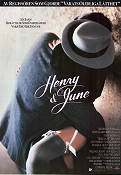 Henry and June 1990 Movie poster Fred Ward Philip Kaufman