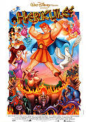 Hercules 1997 Movie poster