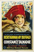 The Duchess of Buffalo 1926 Movie poster Constance Talmadge
