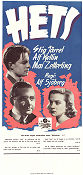 Torment 1944 Movie poster Stig J�rrel Alf Sj�berg