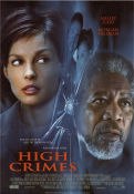 High Crimes 2002 Movie poster Ashley Judd