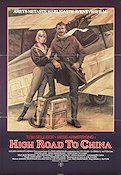 High Road to China 1983 poster Tom Selleck Brian G Hutton