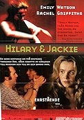 Hilary and Jackie 1998 Movie poster Emily Watson