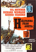Flight from Ashiya 1964 poster Yul Brynner