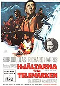 The Heroes of Telemark Poster 70x100cm FN original