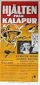 Northwest Frontier 1959 poster Kenneth More