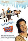 The Dream Team 1989 poster Michael Keaton