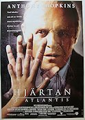 Hearts in Atlantis 2001 poster Anthony Hopkins