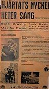Double or Nothing 1930 poster Bing Crosby
