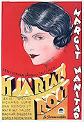 Hj�rtats r�st 1930 Movie poster Margit Manstad