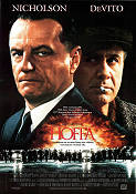 Hoffa 1992 Movie poster Jack Nicholson