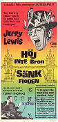 Don't Raise the Bridge Lower the River 1968 poster Jerry Lewis Jerry Paris