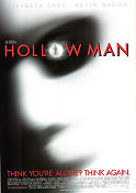 Hollow Man 2000 poster Elisabeth Shue Paul Verhoeven