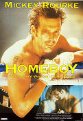 Homeboy 1988 Movie poster Mickey Rourke