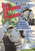 One Summer of Happiness 1951 poster Ulla Jacobsson Arne Mattsson