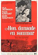 One Summer of Happiness 1951 Movie poster Ulla Jacobsson Arne Mattsson