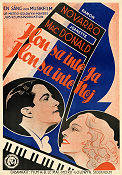 The Cat and the Fiddle 1934 poster Ramon Novarro William K Howard